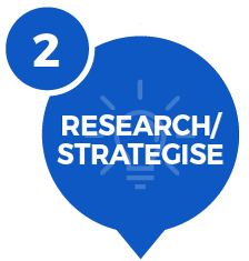 research/strategise